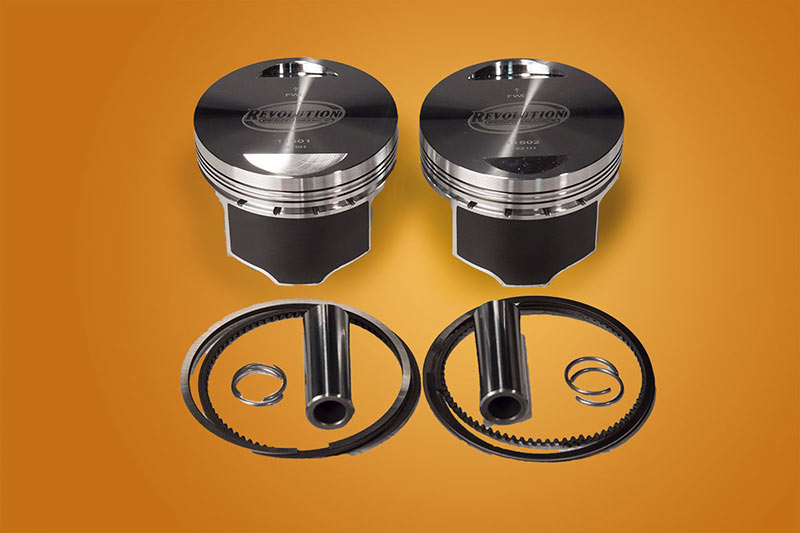 "Evo 85"" Domed Revolution Performance Piston Kit"