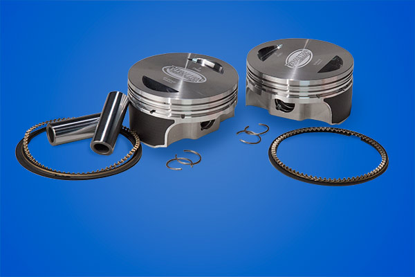 "Evo 109"" Revolution Performance Flat Top Piston Kit"