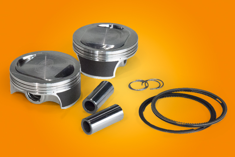 107in Rp Twin Cam Piston Kit +3cc dome