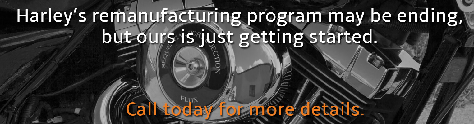 Revolution Performance remanufacturing program