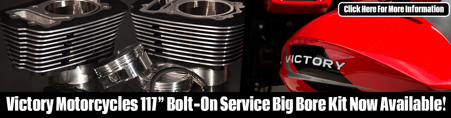 Victory Motorcycle Bolt-On Service Big Bore Kits!